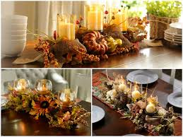 Magnificent Dining Table Decoration With Fall Centerpiece Decor Epic Image Of Room