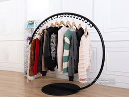 Best Gr095 Modern Decoration Clothes Racks For Sale Commercial Clothing With Display Ideas