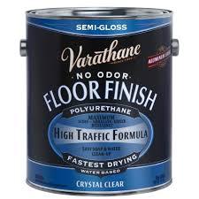 Varathane Renewal Floor Refinishing Kit by Varathane 1 Gal Clear Semi Gloss Water Based Floor Polyurethane