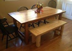 free diy furniture plans to build a wooden truss dining table