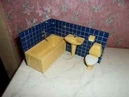 altes eck badezimmer 70er jahre lundby puppenhaus