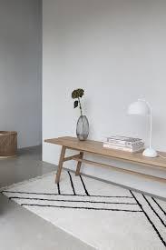 hübsch interior stilvolle holzbank aus eichenholz kaufen