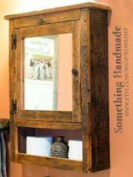 Barn Wood Bathroom Cabinet Etsy Shop