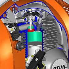 STIHL 4 MIXR Engine Zoom