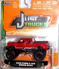 Jada 2014 Just Trucks 2008 Ford F-350 Super Crew Wave 3S Bright RED ...