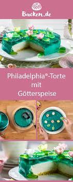 philadelphia torte mit götterspeise