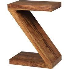 wohnling beistelltisch wl1 303 mumbai massivholz sheesham z cube 59cm hoch wohnzimmer tisch design braun landhaus stil couchtisch