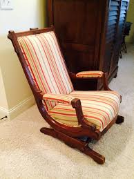 Victorian Eastlake Rocking Chair Victorian Rocking Chair Image 0 Eastlake Upholstery Fabric Application Details About Early Rocker Rocking Chair Platform Rocker Colonial Creations Mid Century Antique Restoration Broken To Beautiful 19th Mahogany New Upholstery Platform Eastlake Govisionclub Illinois Circa Victoria Auction