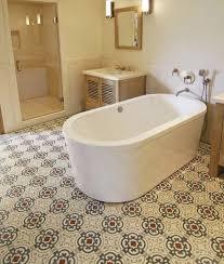 simple vintage bathroom floor tiles 67 to home design classic