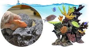 Star Wars Themed Aquarium Safe Decorations by Free Form Habitat Mix By Hand Epoxy Sculpting Putty Smooth On