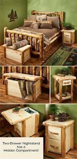 Natural Log Corral Bedroom Furniture