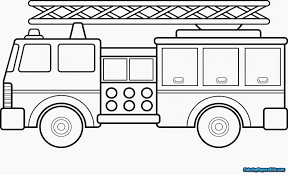 Lego Fire Truck Coloring Pages | Coloring Pages For Kids
