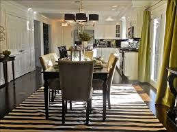 furniture what size rug goes under a dining room table how to