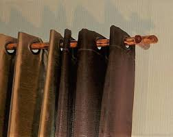 Wood Curtain Rods Countrycurtains Drapery Rod Rustic Decor Reclaimed WoodMade