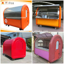Mobile Ice Cream Food Trailers For Street Barbecue Complete ...