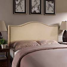 Amazon Canada King Headboard by Modway Curl Queen Nailhead Upholstered Headboard Multiple Colors