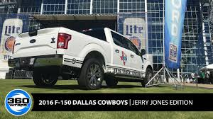 360 Wraps   Dallas Cowboys 2016 F150   Jerry Jones Edition - YouTube Goverizon Nfl Tailgate Event In Arlington Texas Verizon Dallas Cowboys Heavy Duty Vinyl 2pc 4pc Floor Car Truck Suv New Era Womens Whitegray Mixer 9twenty Special Edition Page 2 The Ranger Station Forums Pin By Madisonyvei On Denver Broncos Womens Pinterest Ford Rc Monster Girl Cartruck Decal Sports Decals And Cynthia Chauncey White Shine 9forty Adjustable Hat Intro Debuts F150 Bestride Bus Invovled Crash 2016 Cowboy Grapevine Tx