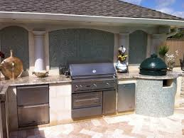 kitchen small outdoor kitchen ideas with green egg and