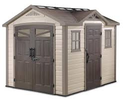 10x12 Shed Material List by Keter Summit 8x9 Plastic Storage Shed 17190650 On Sale Now