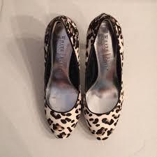 white house black market panther snow leopard pumps on sale 68