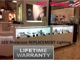 led museum quality showcase display lighting no uv