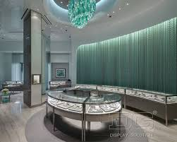 JE82 Jewelry Store Layout Design For Tiffany Co
