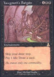 Necropotence Deck Tapped Out by Deck Of The Day U2013 Vintage Dark Petition Storm