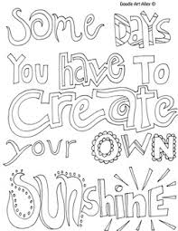 Imposing Decoration Quote Coloring Pages Inspirational Doodle Art Alley