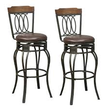 Appealing Padded Bar Stools Scenic Kitchens Tire Chairs ...