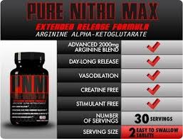 Health Benefits Of The Supplement Pure Nitro Max