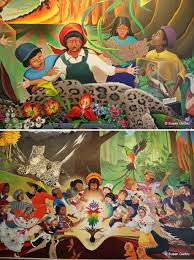 Denver Airport Murals Conspiracy Theory by The Denver International Airport Conspiracy Csi