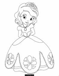 Download Free Printable Disney Princesses Coloring Pages For Girls With Image Resolution