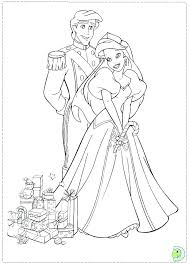 Princess Christmas Coloring Pages Sheets Free Printable Disney