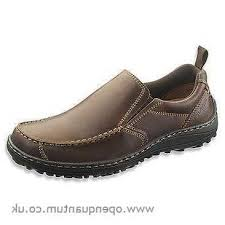 Hush Puppies Ceil Slip On Mt by New Men Hush Puppies Belfast Slip On Mt Brown Leather H103355