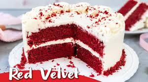 velvet cake rezept einfach lecker und samtig