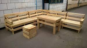 diy pallet patio or outdoor furniture set 101 pallets