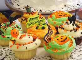 Halloween Cupcakes Themed Classic Cupakes