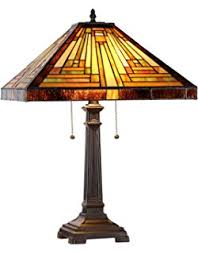 Tiffany Style Glass Torchiere Floor Lamp by Amora Lighting Am1053tl14 Tiffany Style Mission Design Table Lamp
