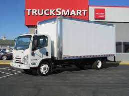 100 20 Ft Truck ISUZU NPRHD EFI Box Van S For Sale N Trailer