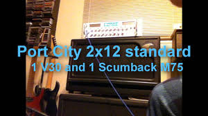 Mesa Boogie Cabinet 2x12 by Mesa Boogie And Port City 2x12 Cab Comparison With Rhodes Artemis