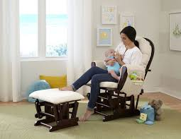 Furniture: Glider Rocking Chair For Your Cozy Nursery Furniture Idea ...