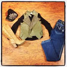 How Much Do You Love These Boots And Vest Its A Great Addition To