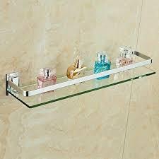glasregal wandregal glasboden glasablage glas regal badablage bad badezimmer