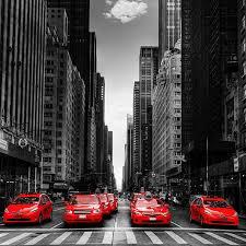 tableau new york taxis n0015 tableaux déco personnalisés