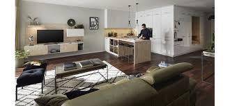 freistehende küche global 54 140 inkl wohnzimmersideboard und garderobennische