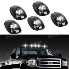 Partsam Cab Roof Lights LED Clearance Cab Marker Lights 5PCS Clear ... Zroadz Is First To Market For The 2018 Ford F150 Led Mounting Smoked Top Roof Dually Truck Cab Marker Running Clearance Lights 0316 Dodge Ram 2500 3500 Amber Smoke Cab Roof Lights 5 Piece 54in Curved Light Bar Upper Windshield Mounting Brackets For 02 Ikonmotsports 0608 3series E90 Pp Front Splitter Oe Painted 3pc For 0207 Chevy Silveradogmc Sierra Smoke Shield With Led Chelsea Company Ford Interceptor Utility Can Run With No Roof Lights Thanks To New Chevrolet Silverado 2500hd Questions Gm Kit Anzo 5pcs Oval Lens Dash Z Racing 8096 F250
