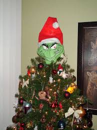 Whoville Christmas Tree Decorations by Grinch Christmas Tree Topper Grinch Christmas Tree Grinch