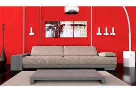 wandbild rot beige abstraktion