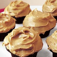 Chocolate Cupcakes Peanut Butter Icing