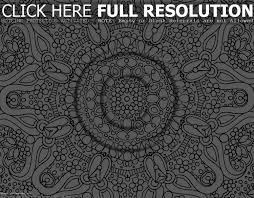 Ideas Collection Printable Coloring Pages Hard Mandala For Your Resume Sample